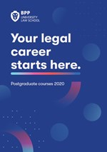 Brochure: BPP University Law School