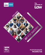 Brochure: The University of Law