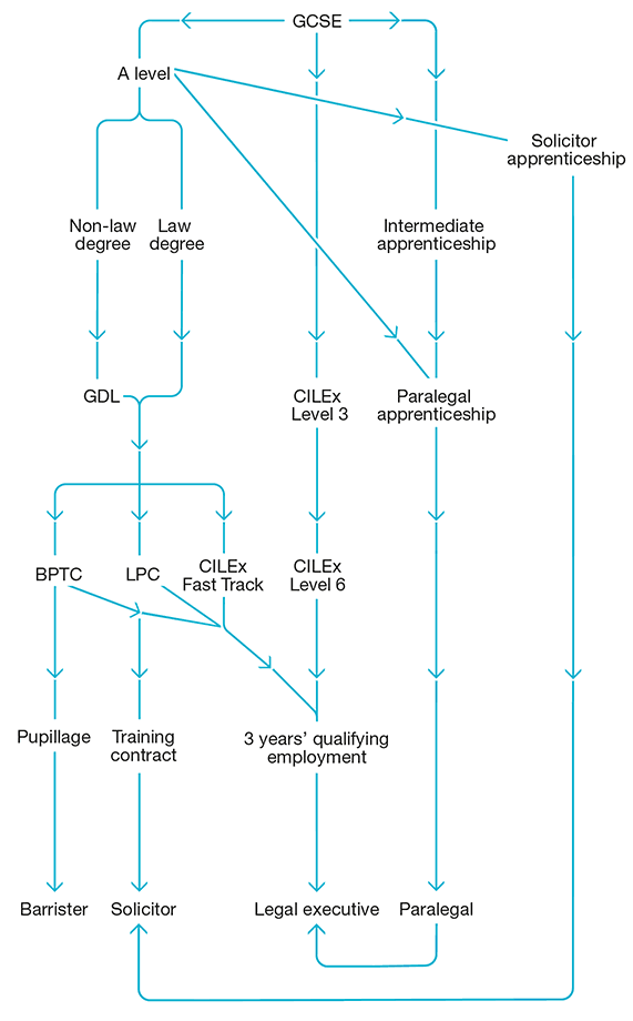 Legal Career Paths